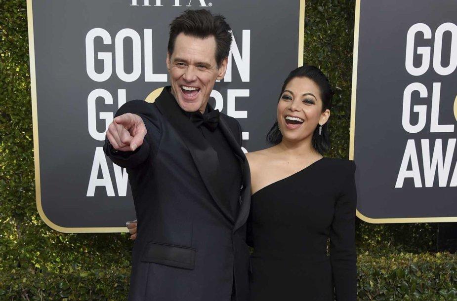 Jimas Carrey ir Ginger Gonzaga