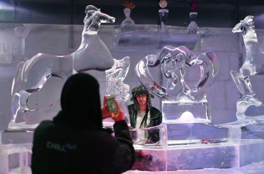 Londonas ruošiasi Ledo skulptūrų festivaliui