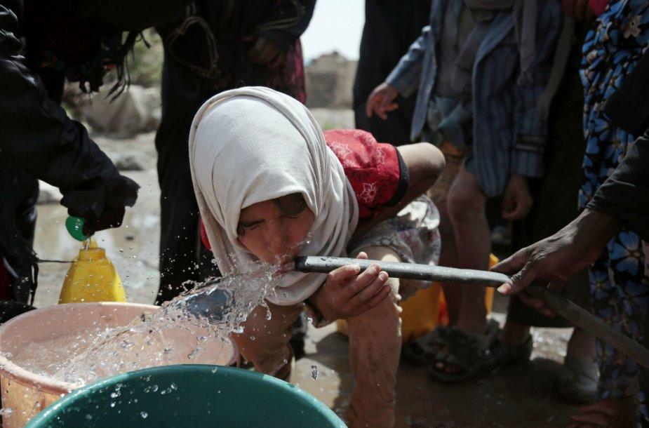 Choleros protrūkis Jemeno sostinėje