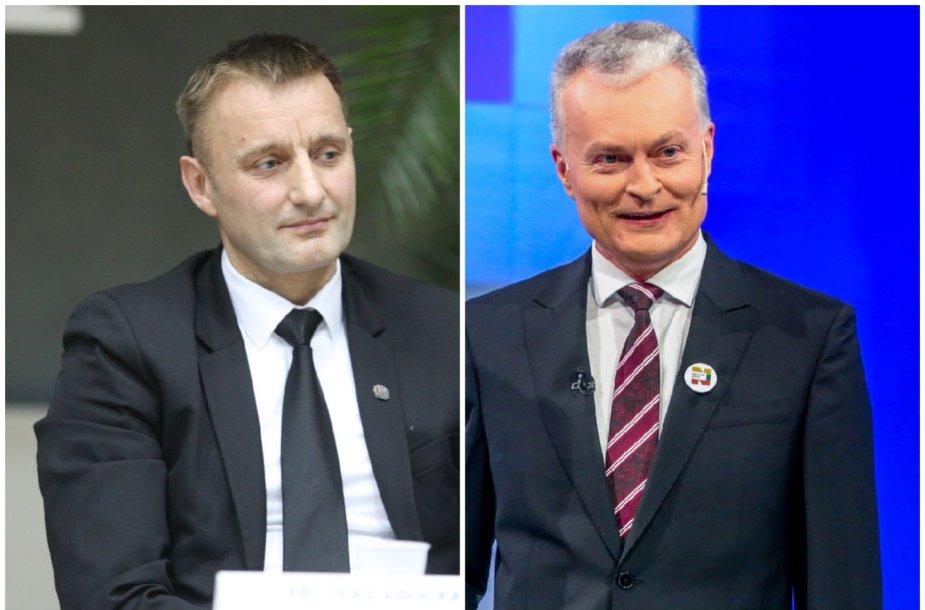 Artūras Visockas ir Gitanas Nausėda