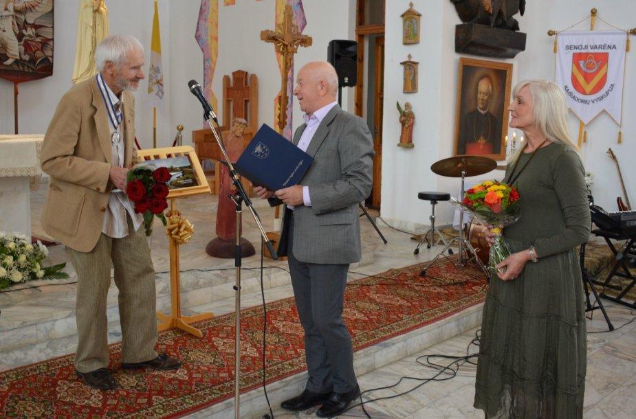 Senosios Varėnos bendruomenės šventėje – padėka A.Kaliūnui