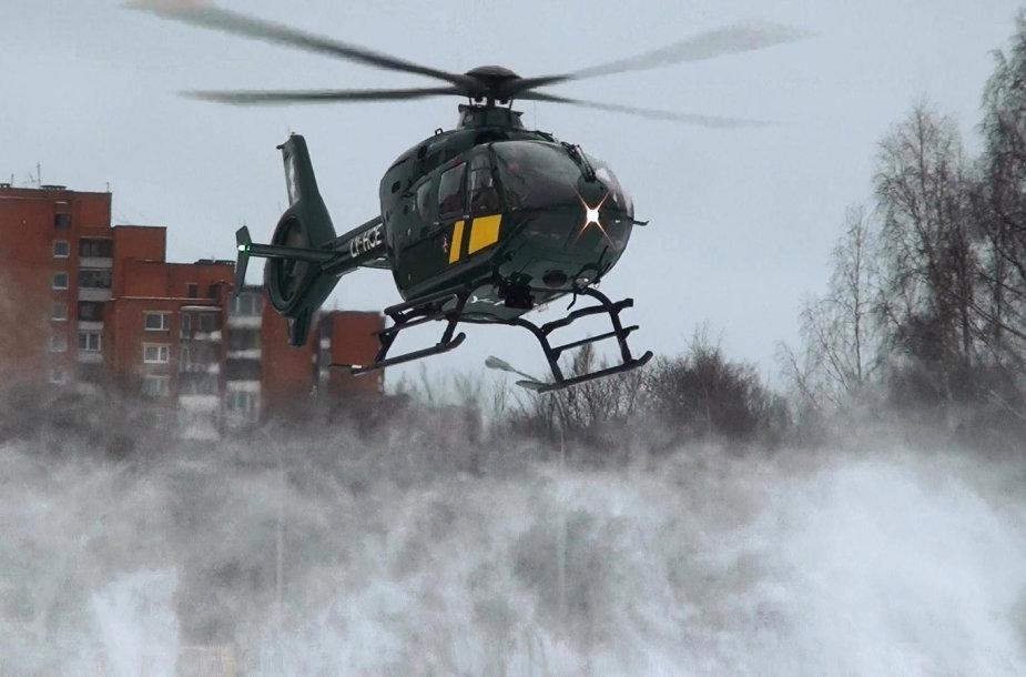 "VSAT sraigtasparnis ""Eurocopter EC135"""