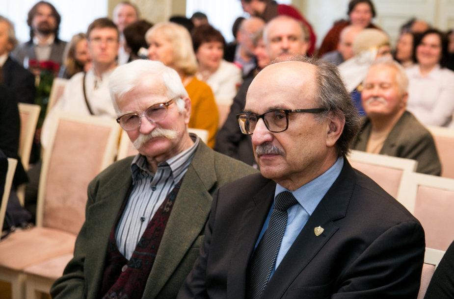 Henrikas Gudavičius ir Algimantas Černiauskas