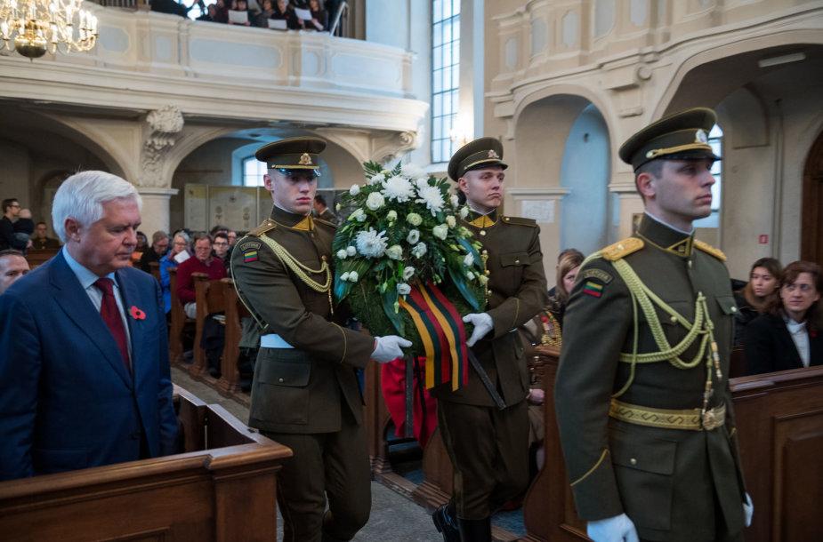 Atminimo dienos minėjimas Vilniaus evangelikų liuteronų bažnyčioje