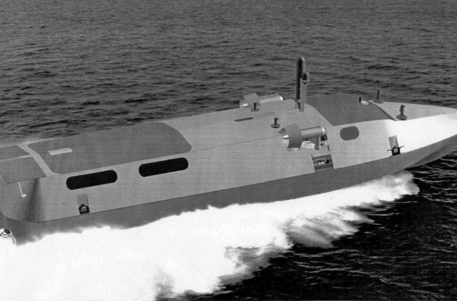 """Povandeninio laivo """"Triton-NN"""" maketas"""