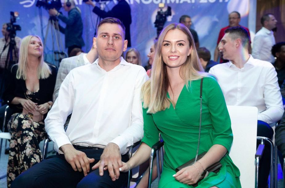 Edgaras Ulanovas ir Gabija Morkūnaitė