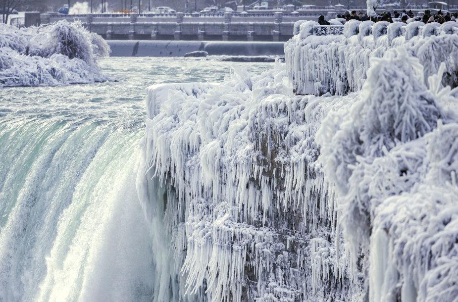 Niagaros kriokliai žiemą