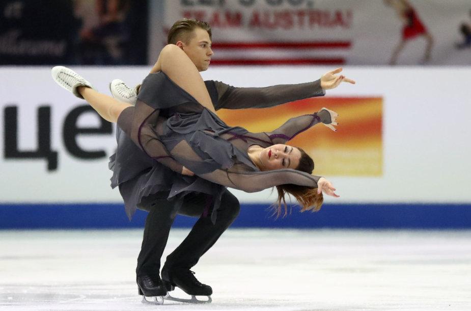 Allison Reed ir Saulius Ambrulevičius
