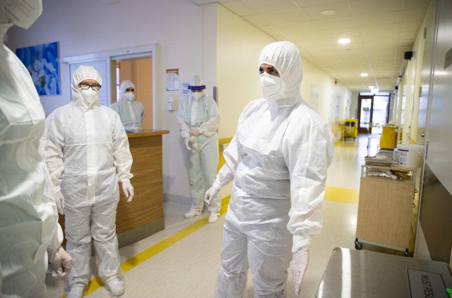 Kova su koronavirusu Estijoje