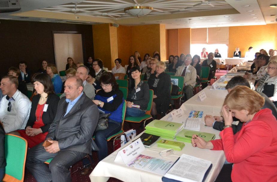 Valstybinio turizmo departamento organizuotas Lietuvos turizmo galimybių pristatymo renginys sulaukė gausaus Kaliningrado srities kelionių operatorių ir žiniasklaidos atstovų susidomėjimo