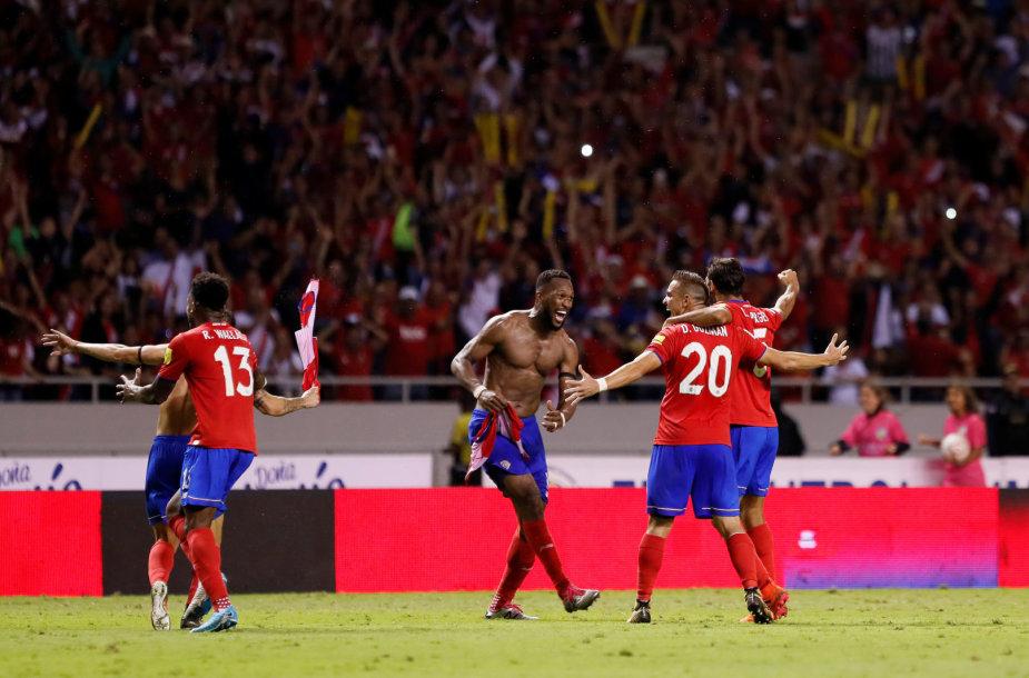 Kosta Rikos triumfas