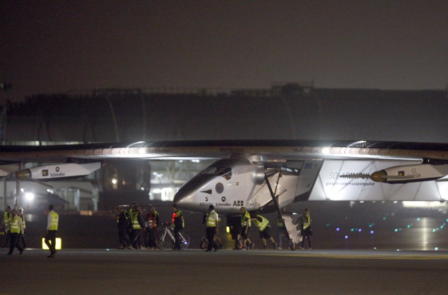 """Solar Impulse 2"" Omane"