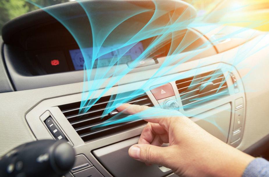 Automobilio ventiliacijos priežiūra