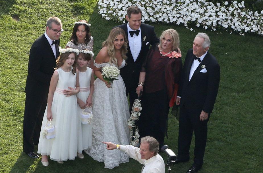 Trevoro Engelsono ir Tracey Kurland vestuvių akimirka