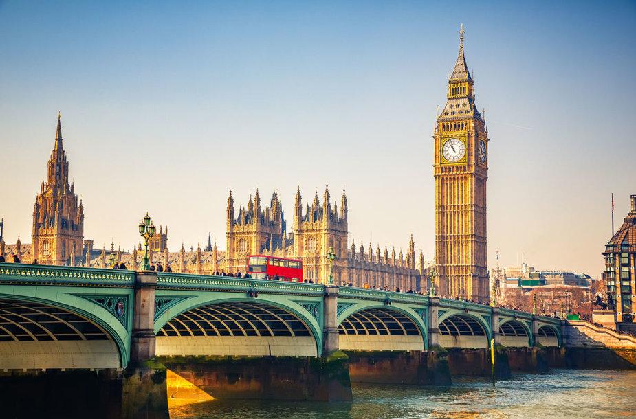 4. Big Benas, Londonas