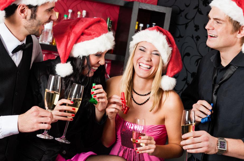 Kalėdinis vakarėlis su draugais