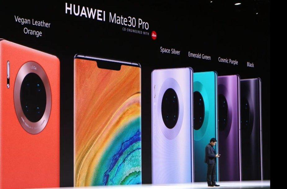 """""""Huawei Mate 30 Pro"""" nugarėlės spalvos"""