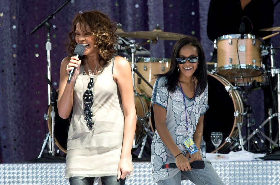 Whitney Houston su dukra Bobbi Kristina Brown (2009 m.)