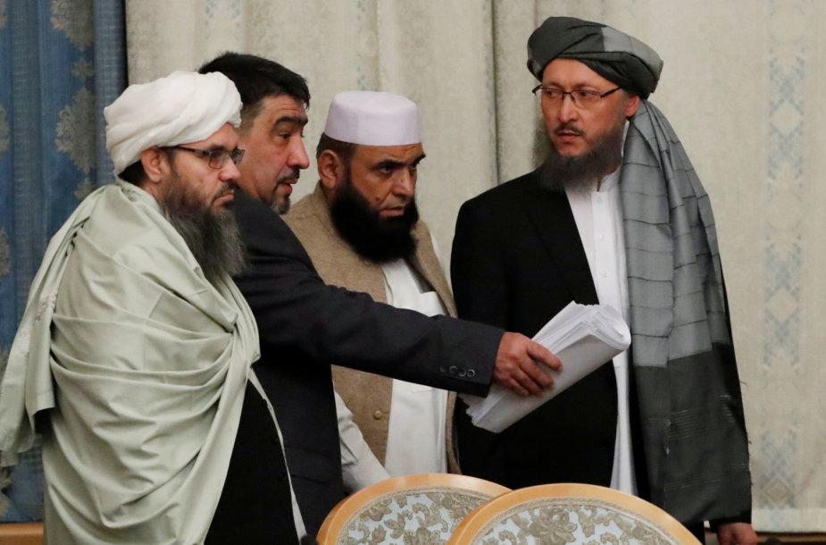 Talibano atstovai Maskvoje