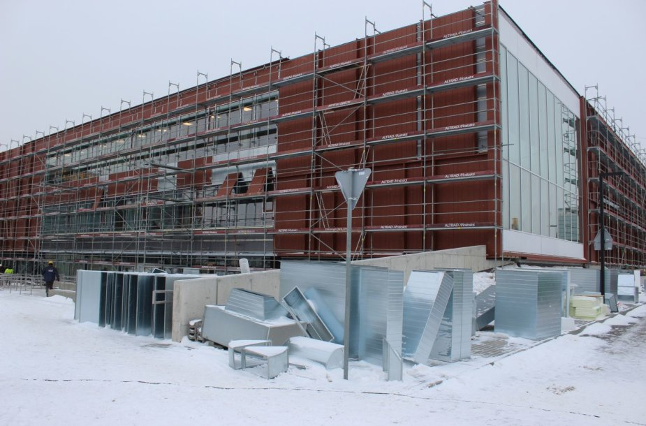 Klaipėdos baseino statybos