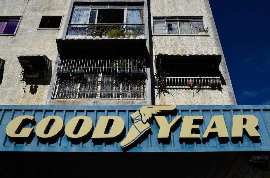 """""""Goodyear"""" uždarė savo gamyklą Venesueloje."""