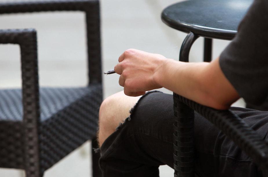 Rūkymo draudimo zona Miesto sode