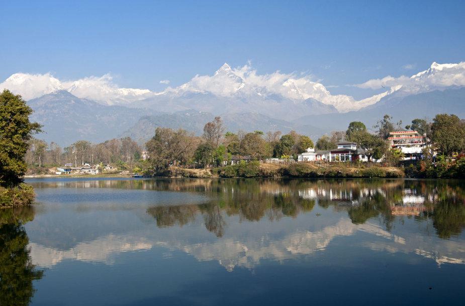 Pevos ežeras Nepale