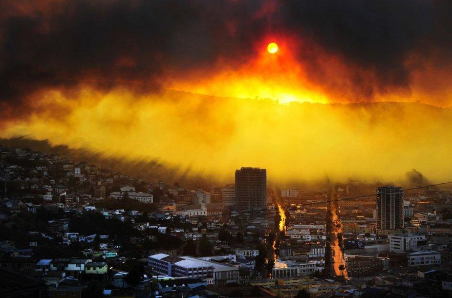 Miškų gaisrai Čilėje