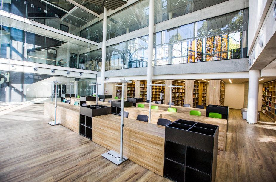 VDU socialinių ir humanitarinių mokslų biblioteka pavadinta Leonido Donskio vardu