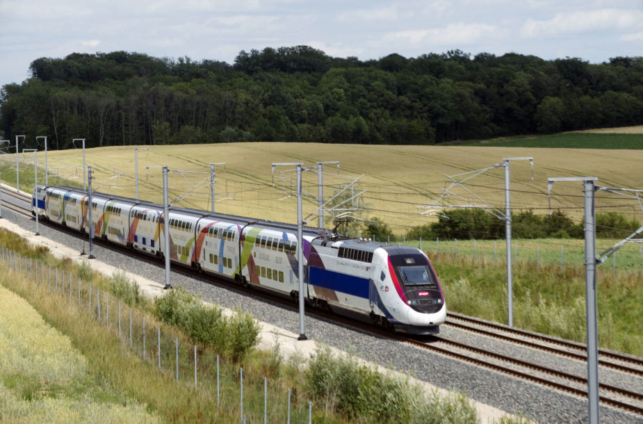 Traukinys Liuksemburge