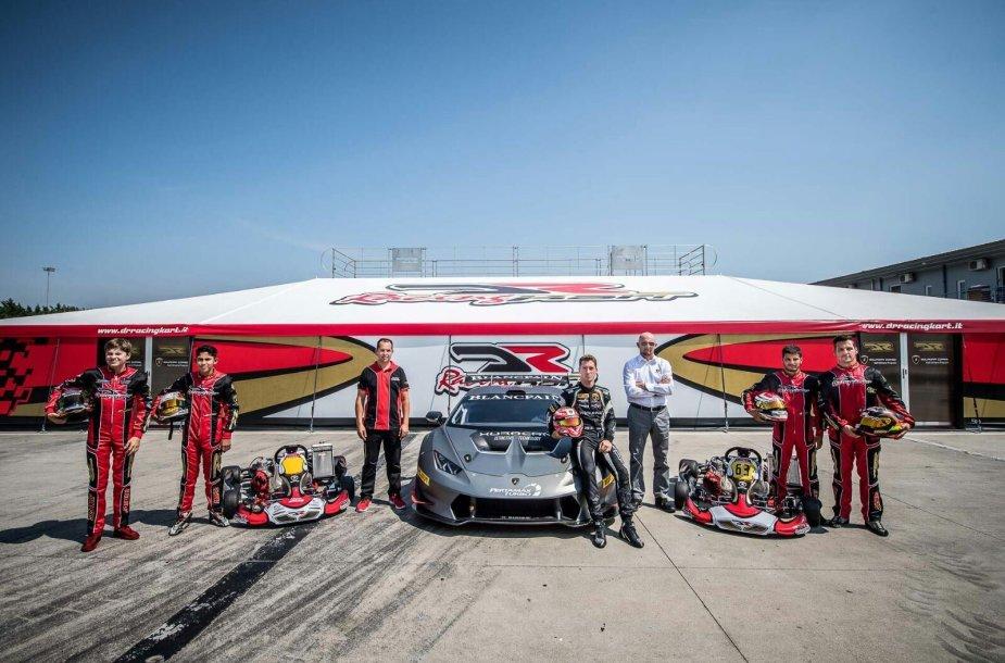 """""""Lamborghini"""" lenktynių mokykla"""