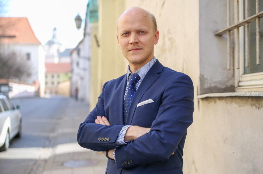 """Matas Buzelis, transporto skelbimų portalo """"Autoplius.lt"""" komunikacijos vadovas"""