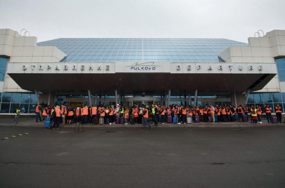 Pulkovo oro uostas