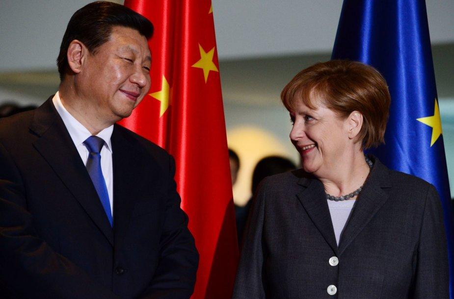 Angela Merkel su Xi Jinpingu