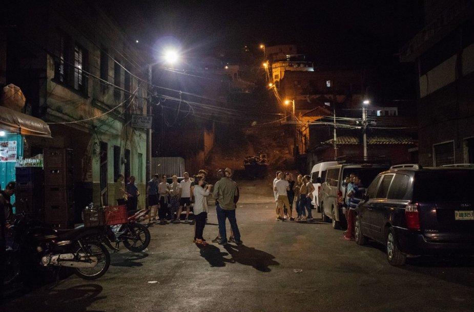 Naktis Hondūro sostinėje