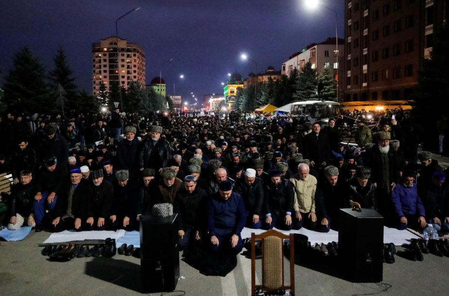 Protestas Ingušijoje