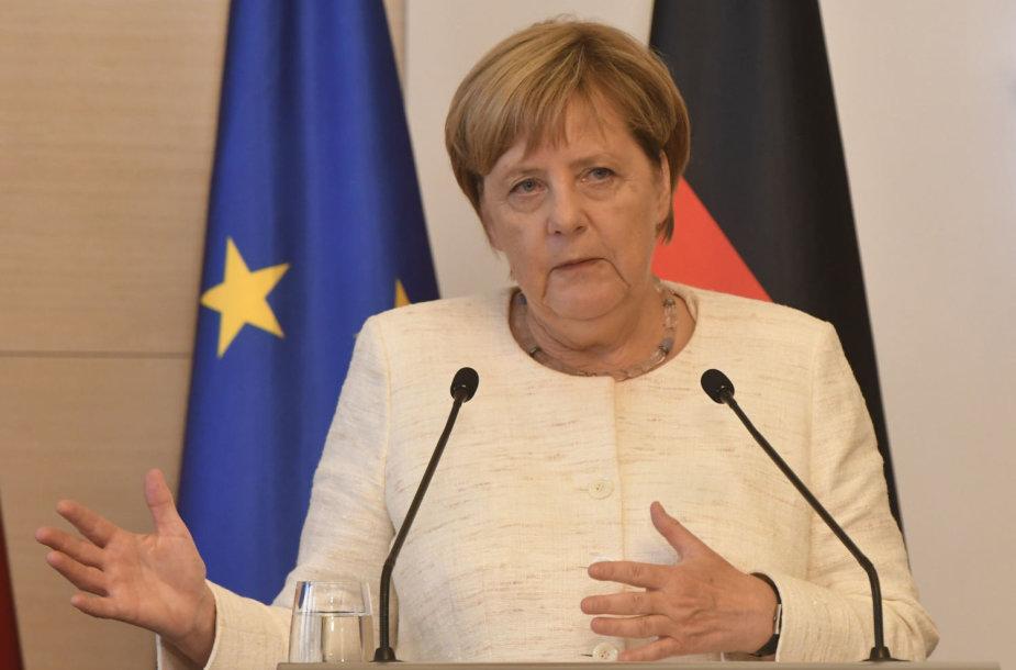Angela Merkel Sakartvele