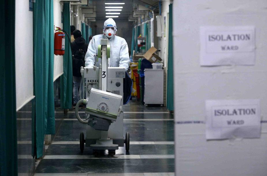 Uhano ligoninėje