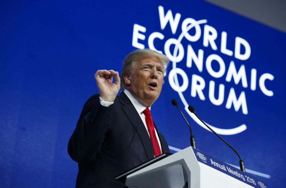 Donaldas Trumpas Davose