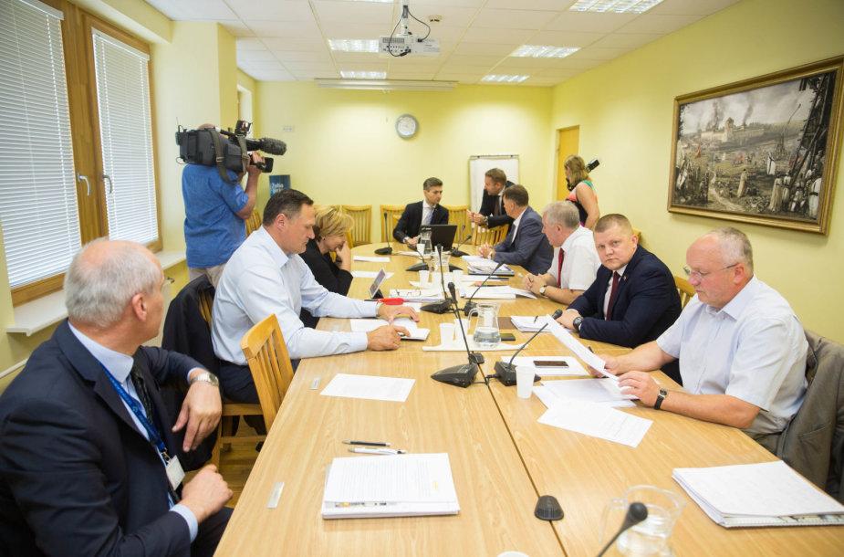 NSGK balsuos dėl parlamentinio tyrimo išvadų