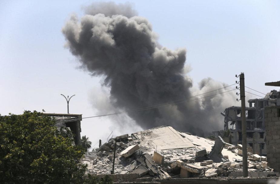 Bombardavimai Sirijoje