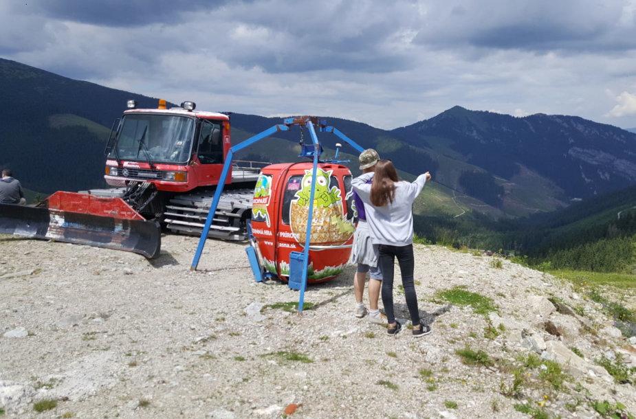 2200 km į Kroatiją: Slovakija, Demanovo slėnis, Chopoko apylinkės