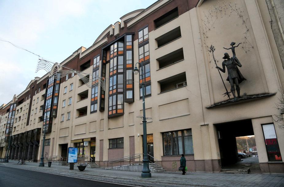 Planuojama pakeisti Seimo viešbučio langus
