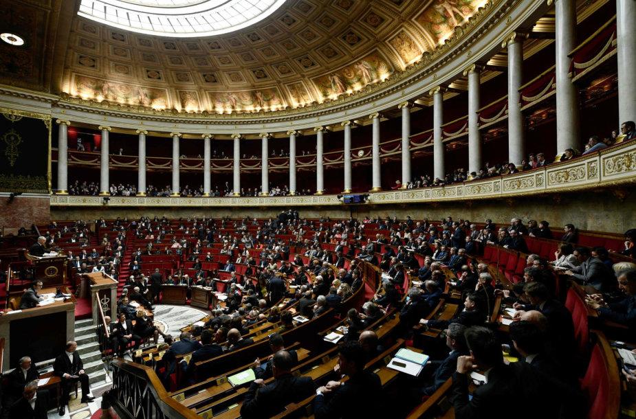 Prancūzijos Nacionalinio Susirinkimo posėdžių salė