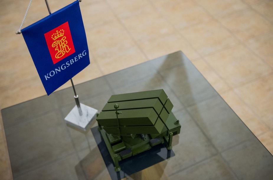 Sutarties dėl norvegiškų sistemų NASAMS įsigijimo pasirašymas