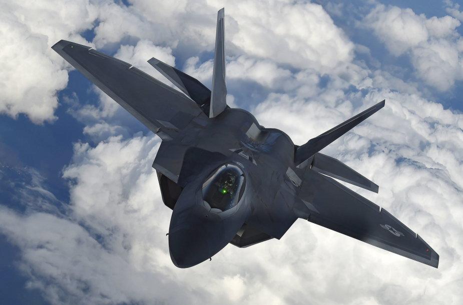 "Naikintuvas ""F-22 Raptor"""