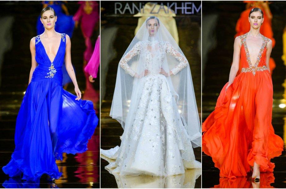 Rani Zakhem kolekcijos modeliai