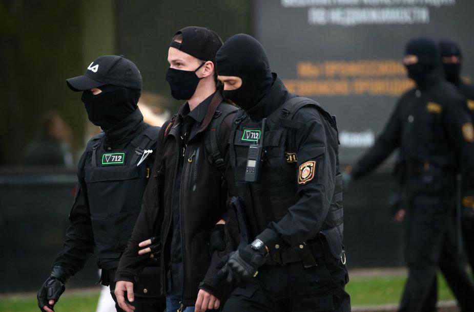 Baltarusių pareigūnai
