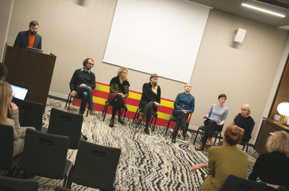 """Konferencija """"Lyčių lygybė Lietuvos kino industrijoje"""""""