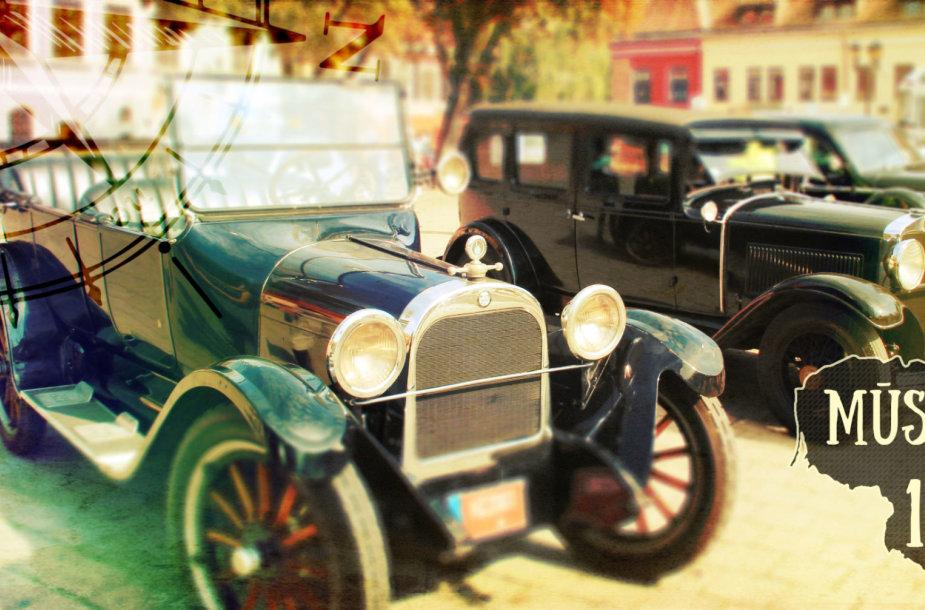 Lietuvoje – jau 1000 istorinių automobilių
